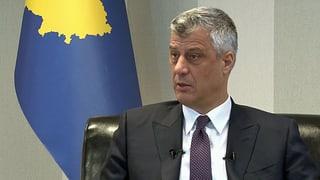 Thaçi : «Was ist die Alternative zum Dialog? Ein neuer Konflikt?»