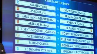 Champions League: Duels attractivs en ils otgavels finals