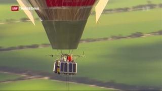 Im Ballon Rund um die Welt
