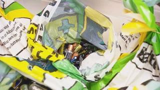 Verschwendung: Viele halbvolle Batterien landen im Recycling