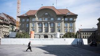 Cifras cotschnischmas: SNB fa in minus da 12,9 milliardas