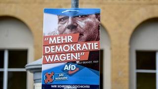 «Die AfD bedient das Gefühl von vor der Wende sehr gut»