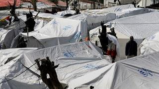 Der Winter kommt, die Flüchtlinge bleiben