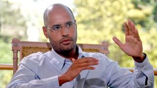 Sohn des Diktators Gaddafi droht Todesstrafe