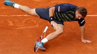 Wawrinka und die French Open: (Noch) keine Liebesbeziehung