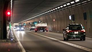Bundesrat will zweite Gotthard-Röhre – ohne Mehrverkehr