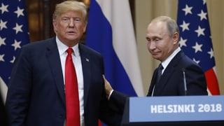 Trump und Putin rücken zusammen