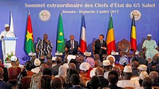 Grünes Licht für afrikanische Anti-Terror-Truppe: Im vergangenen Juli vereinbarten die G5 die Schaffung der Sondertruppe.