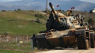 Darum geht es bei der Offensive gegen kurdische Verbände in Afrin, Nordwestsyrien.