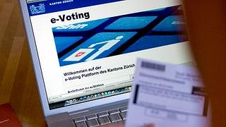 e-voting n'auza betg la participaziun