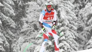 «Let's go» – Marc Gisin steht wieder auf den Skiern