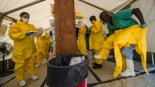 BAG: «Ebola ist momentan ein lokales Problem»