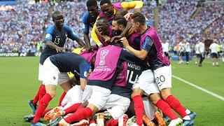 Frankreich nach Spektakel-Sieg im Viertelfinal