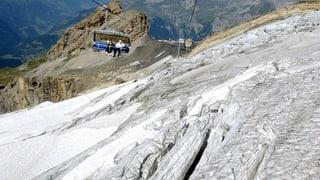 Zentralschweizer Gletscher leiden unter heissem Sommer