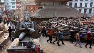 Auch Nepals kulturelle Identität liegt in Trümmern