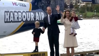 Bye-bye Canada: Die britischen Royals fliegen wieder nach Hause