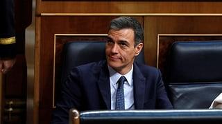 Ministerpäsident Sánchez in Spanien nicht wiedergewählt