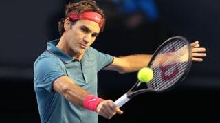 Federer startet in Dubai ohne Mühe