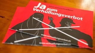 Initiative für Burka-Verbot eingereicht