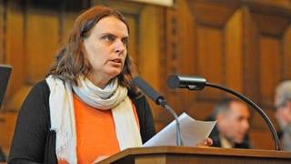 Elisabeth Ackermann ist Grossratspräsidentin
