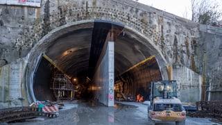 Monte-Ceneri-Tunnel kann doch fristgerecht fertig werden