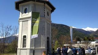 Reclama per la Biosfera Val Müstair a Mals en il Tirol dal Sid