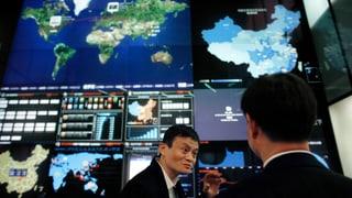 Chinas Online-Gigant vor den Toren der Wall Street