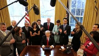 Donald Trump: Mintga suttascripziun è ina show