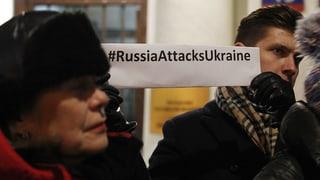 Parlament in Kiew stimmt Einführung des Kriegsrechts zu