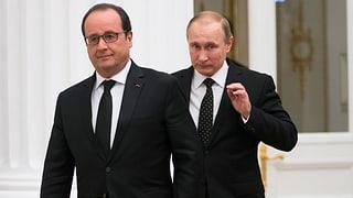 Putin sagt überraschend Frankreich-Reise ab