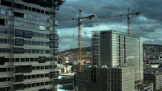 Die Schweiz wird zugebaut