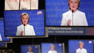 Einschätzung: «Clinton überzeugte mehr als Trump»