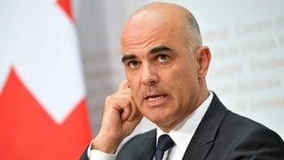 Bundesrat Berset lanciert Abstimmungskampf
