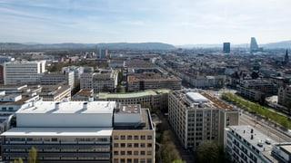 Wohnquartier auf chemisch verschmutztem Boden