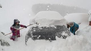 Teile Europas versinken im Schnee