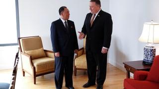 Pompeo zeigt sich nach Treffen mit dem nordkoreanischen Ex-Geheimdienstchef in New York zuversichtlich