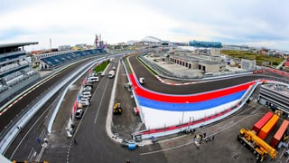 Der neue F1-Kurs in Sotschi: Kurven- und anforderungsreich