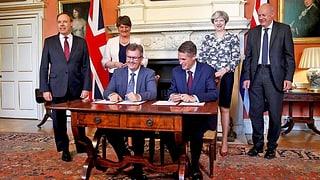 Die Konservativen haben sich mit der nordirischen Democratic Unionist Party (DUP) auf ein Regierungsabkommen geeinigt.
