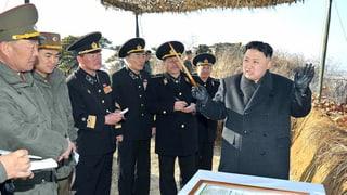 Pjöngjang weiter auf Konfrontationskurs