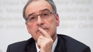 Bodluv-Sistierung: Nationalratskommission steht hinter Parmelin