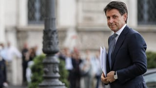 Giuseppe Conte erhält grünes Licht für Regierungsbildung