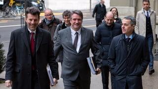 «Plauderstündli» zwischen Parteien und Bundesrat