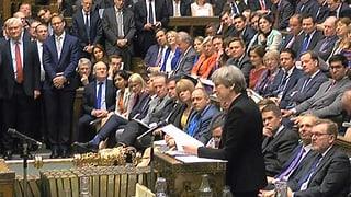 Britisches Unterhaus stimmt Neuwahlen zu