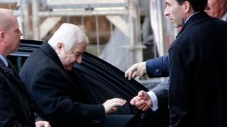 Syrische Delegation droht in Genf mit vorzeitiger Abreise