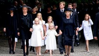Königsfamilie dankt für Beileid nach Tod von Prinz Friso