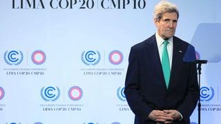 Kerry wirbt für Klimavertrag – auch mit Selbstkritik