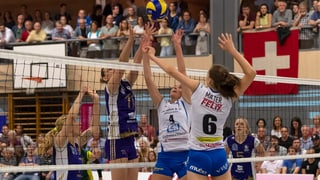 Beachvolley stiehlt dem Hallen-Volley die Show