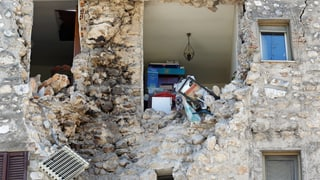 Nach den Erdbeben: Italien überprüft 200'000 Gebäude