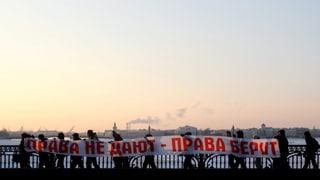 Prominente Kreml-Kritiker in Gewahrsam