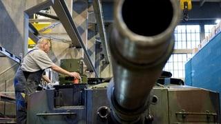 Ständerat will Ausfuhr von Kriegsmaterial erleichtern